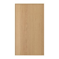 EKESTAD front for dishwasher, oak