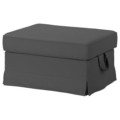 EKTORP Footstool, Hallarp grey