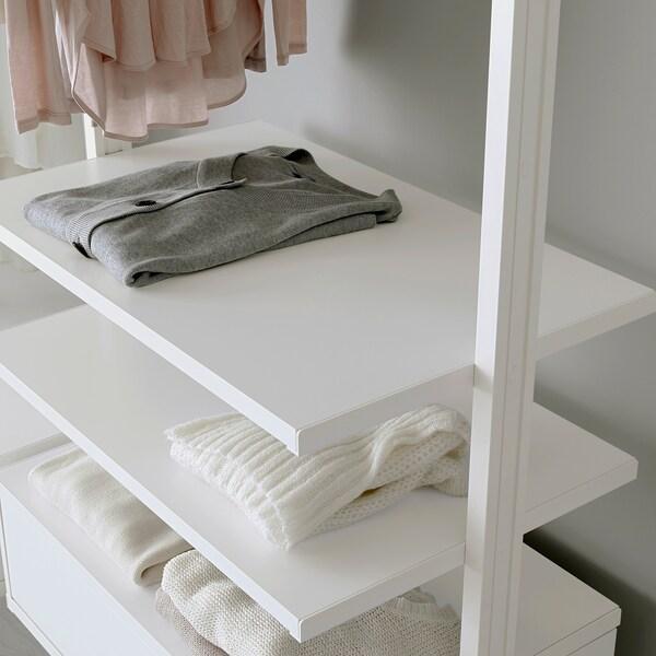 ELVARLI Shelf, white, 80x51 cm
