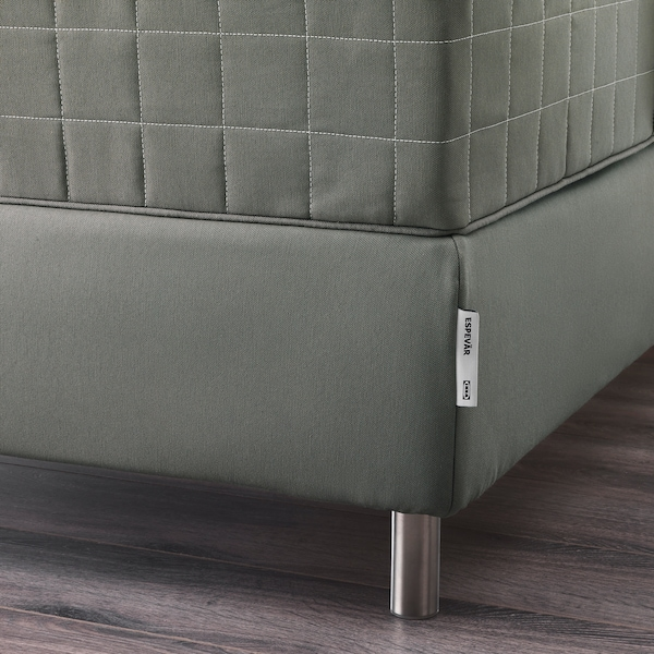 ESPEVÄR Slatted mattress base, dark grey, 160x200 cm