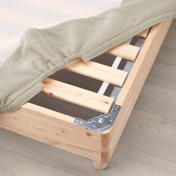 ESPEVÄR Slatted mattress base, natural, 180x200 cm