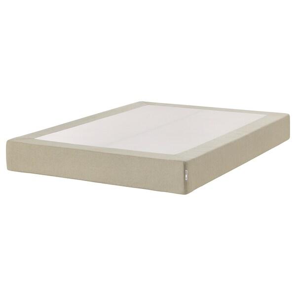 ESPEVÄR Sprung mattress base, natural, 140x200 cm