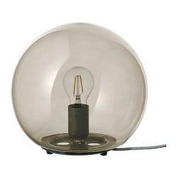 FADO table lamp, grey