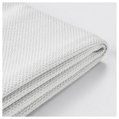 FÄRLÖV Cover for footstool with storage, Flodafors white