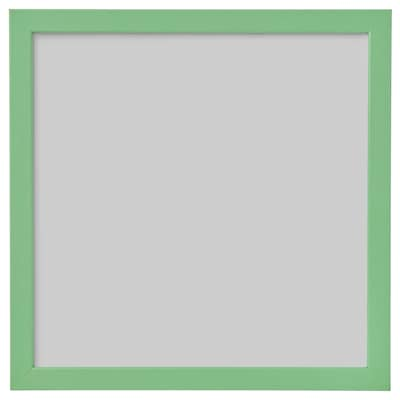 FISKBO Frame, light green, 30x30 cm