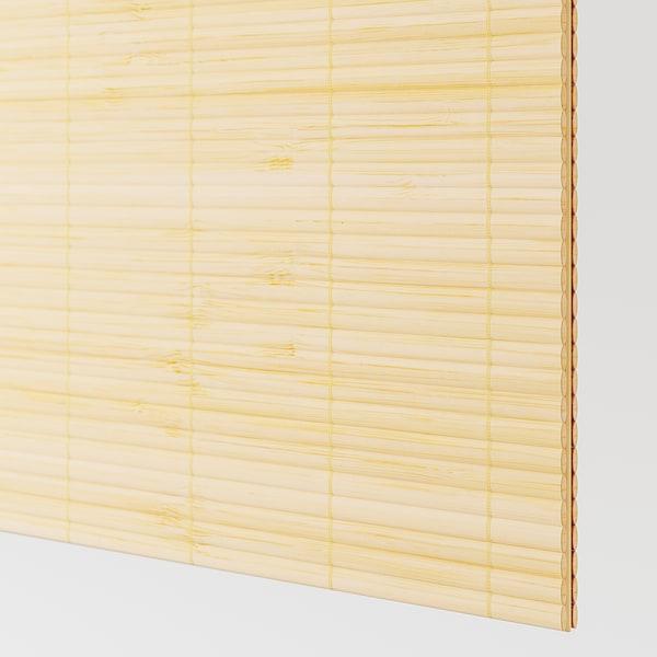 FJELLHAMAR Pair of sliding doors, light bamboo, 200x236 cm