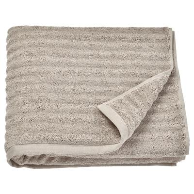 FLODALEN Bath towel, dark beige, 70x140 cm