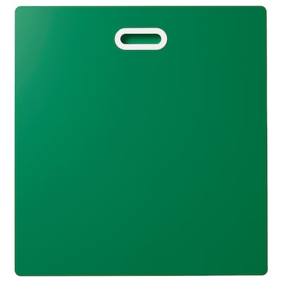 FRITIDS Drawer front, green, 60x64 cm