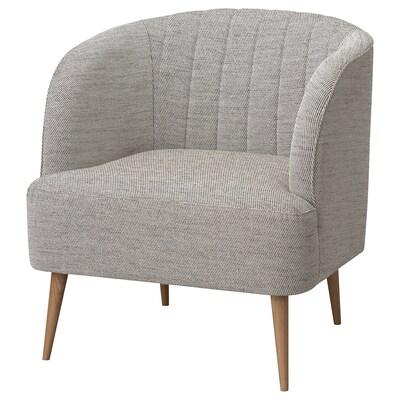 FULLÖSA Armchair, Viarp beige/brown