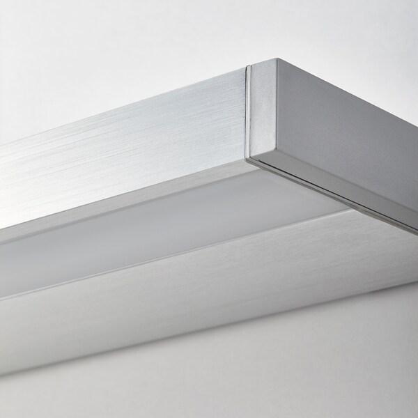 GODMORGON LED cabinet/wall lighting, aluminium-colour, 100 cm