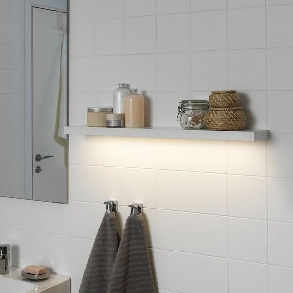 GODMORGON LED cabinet/wall lighting, white, 80 cm