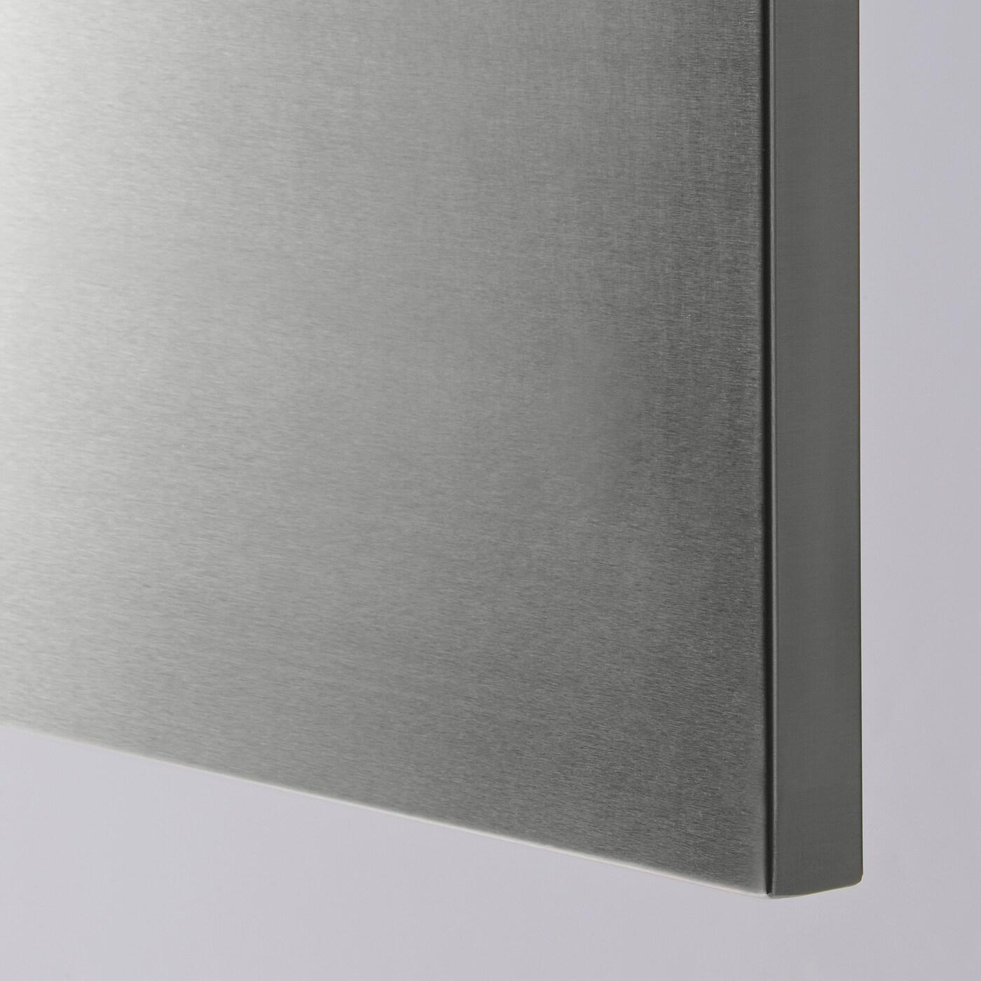 Pannelli Rivestimento Cucina Ikea grevsta door - stainless steel 40x80 cm