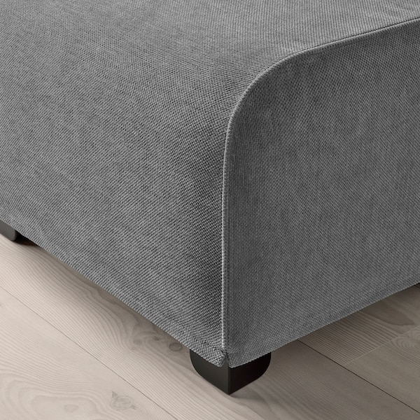 GRÖNLID Footstool, Ljungen medium grey