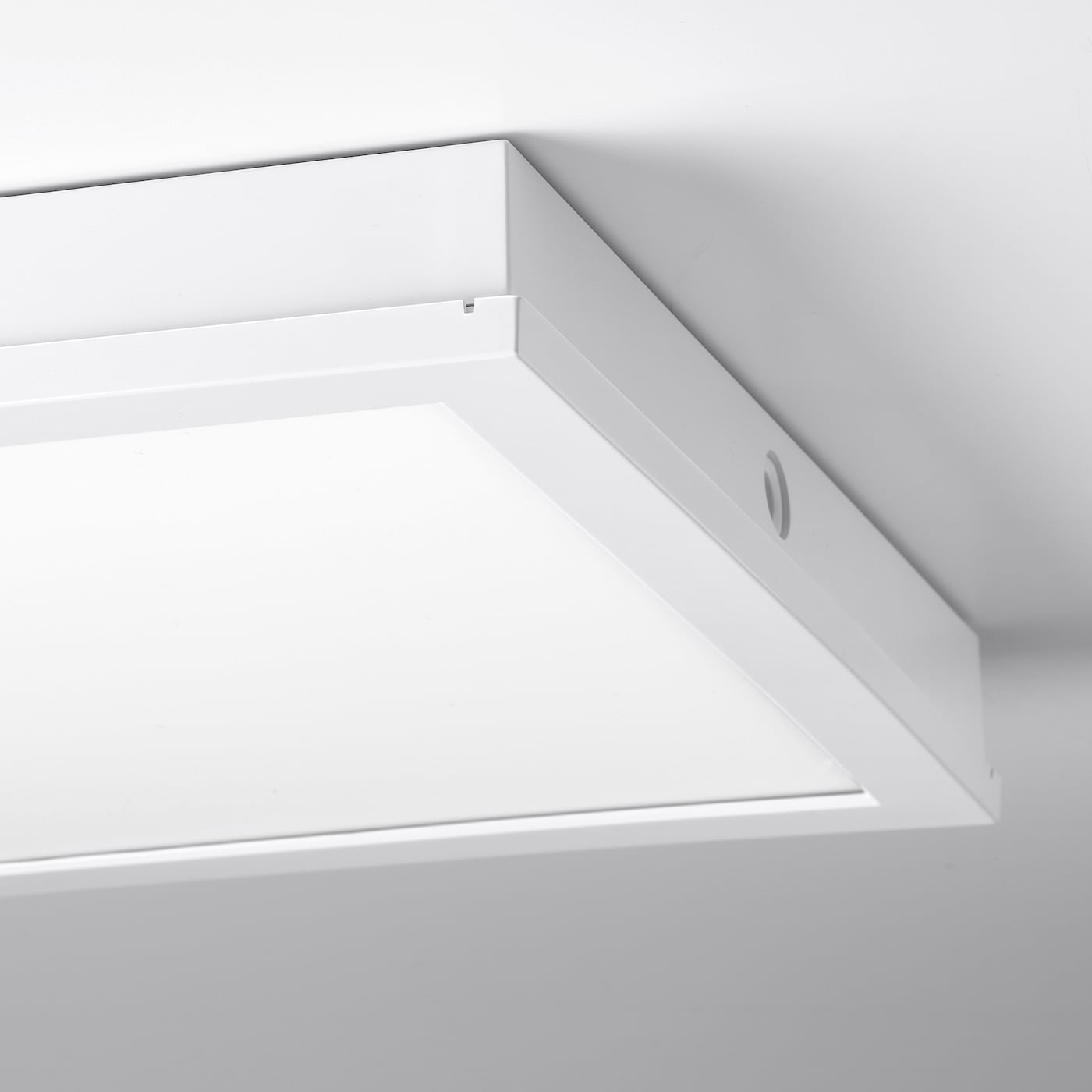 GUNNARP LED ceiling/wall lamp, white dimmable/white spectrum, 40x40 cm