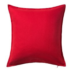 GURLI cushion cover, red