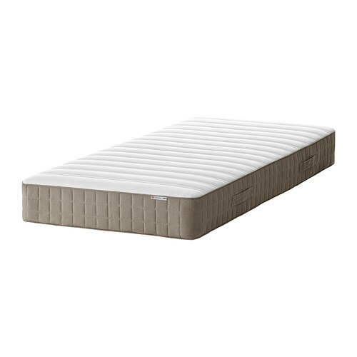 HAMARVIK Sprung mattress   Bonnell springs provide all-over support to ensure a restful night's sleep.