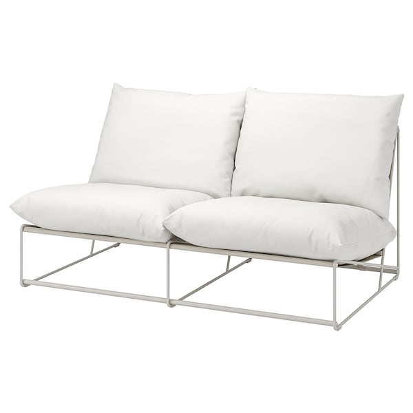 HAVSTEN 2-seat sofa, in/outdoor without armrests/beige 164 cm 94 cm 90 cm 62 cm 42 cm
