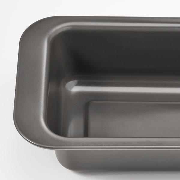 HEMMABAK Loaf tin, grey, 1.8 l