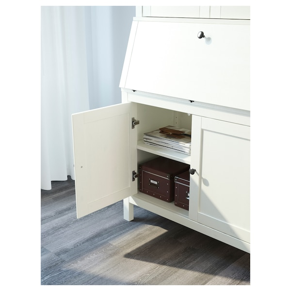 Bureau With Add On Unit Hemnes White Stain