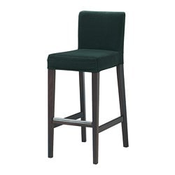 HENRIKSDAL Bar stool with cover