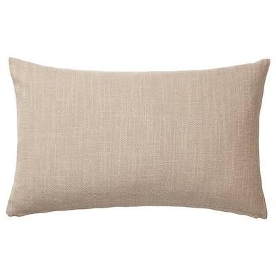 HILLARED cushion cover beige 40 cm 65 cm