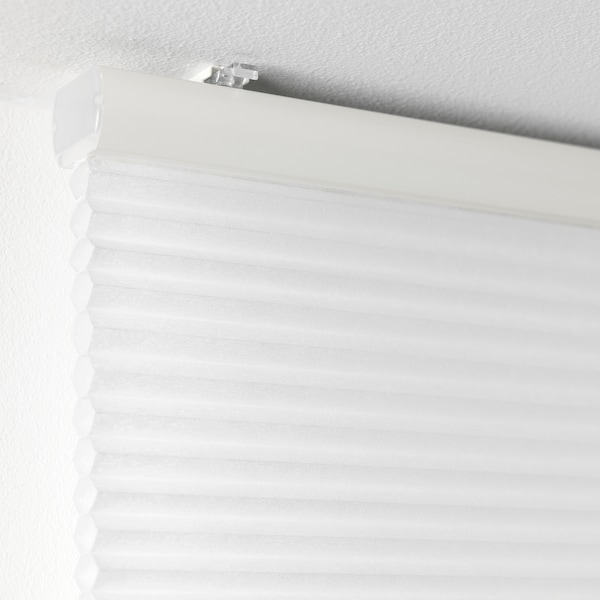 HOPPVALS Cellular blind, white, 140x155 cm