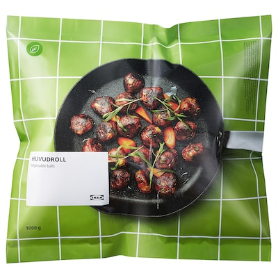 HUVUDROLL Vegetable balls, frozen, 1000 g