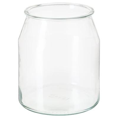 IKEA 365+ Jar, round/glass, 3.3 l