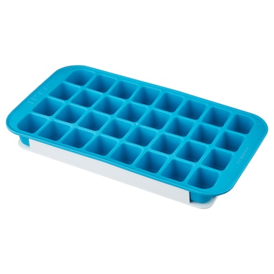 INBLANDAT Ice cube tray, blue, 28x16 cm