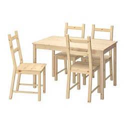 INGO / IVAR Table and 4 chairs