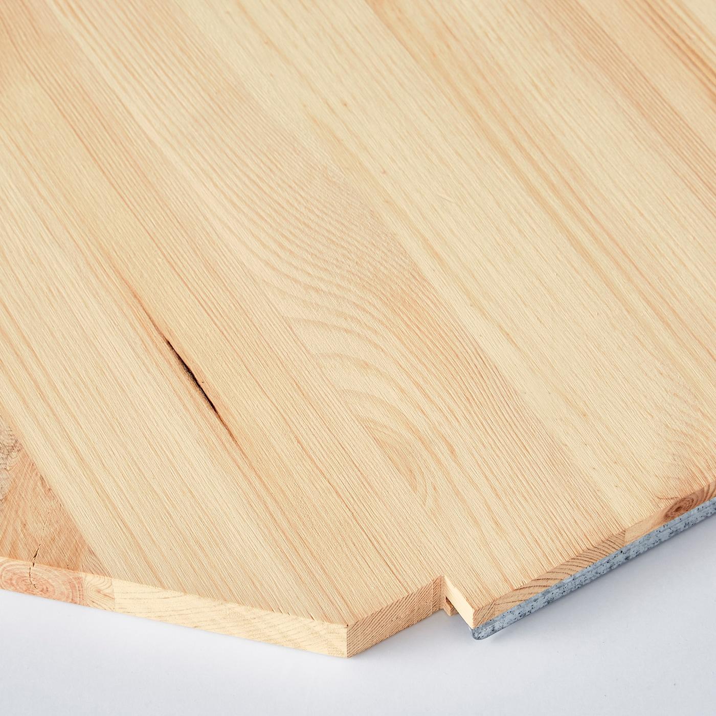 Ikea Scaffali Legno Ivar ivar corner shelf - pine 76x76x50 cm