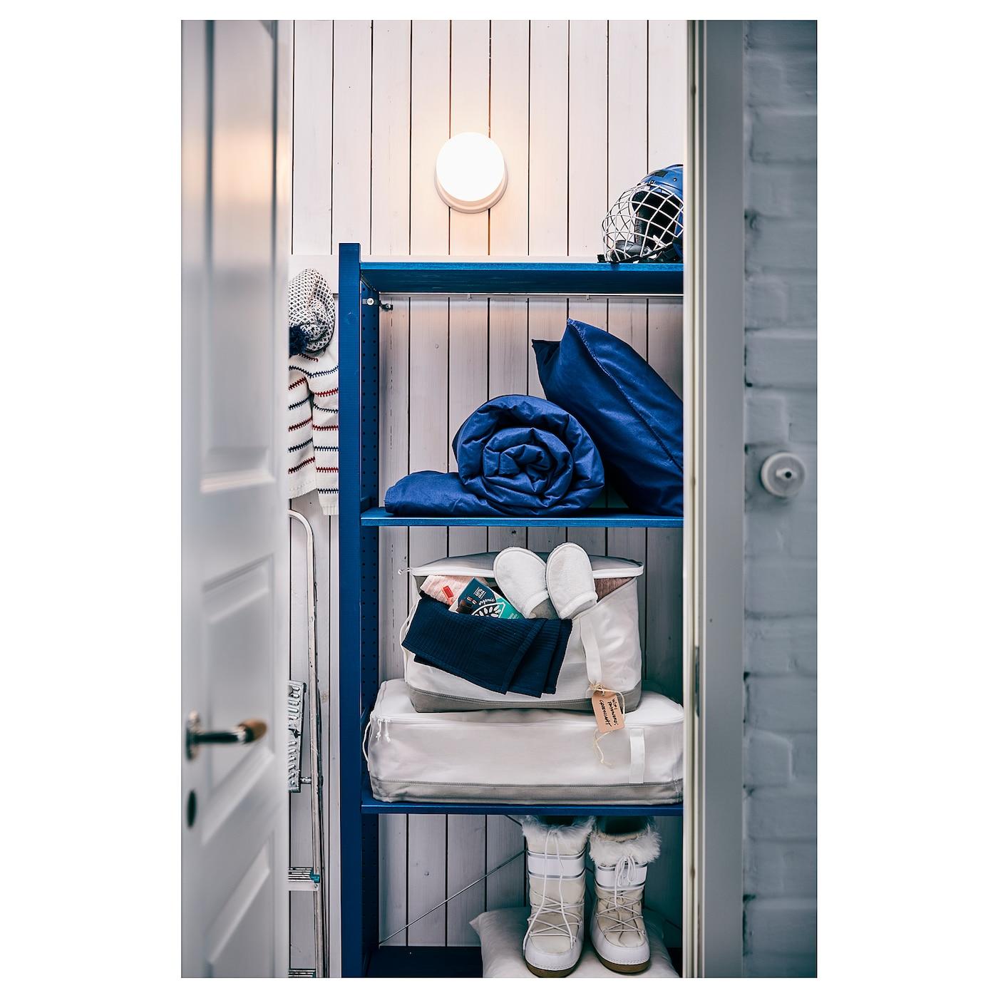 Ikea Scaffali Legno Ivar ivar shelving unit - pine 89x30x124 cm