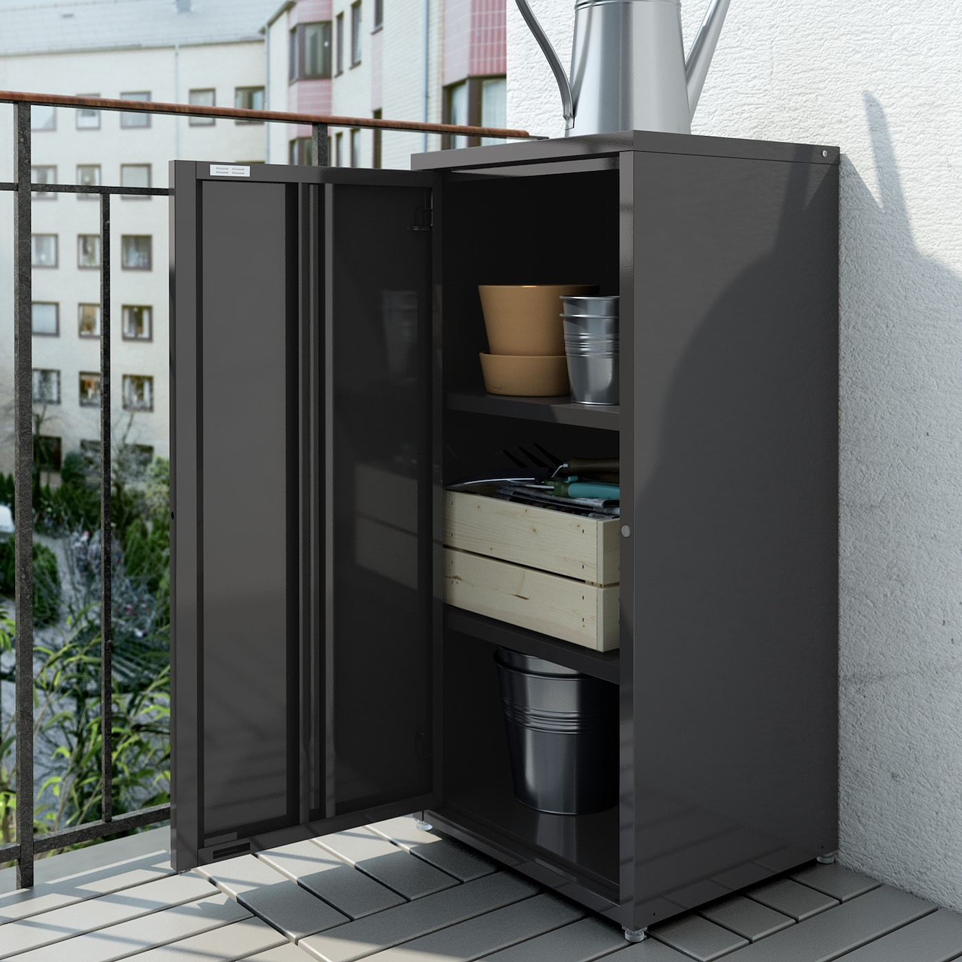 Josef Cabinet In Outdoor Dark Grey Ikea Switzerland
