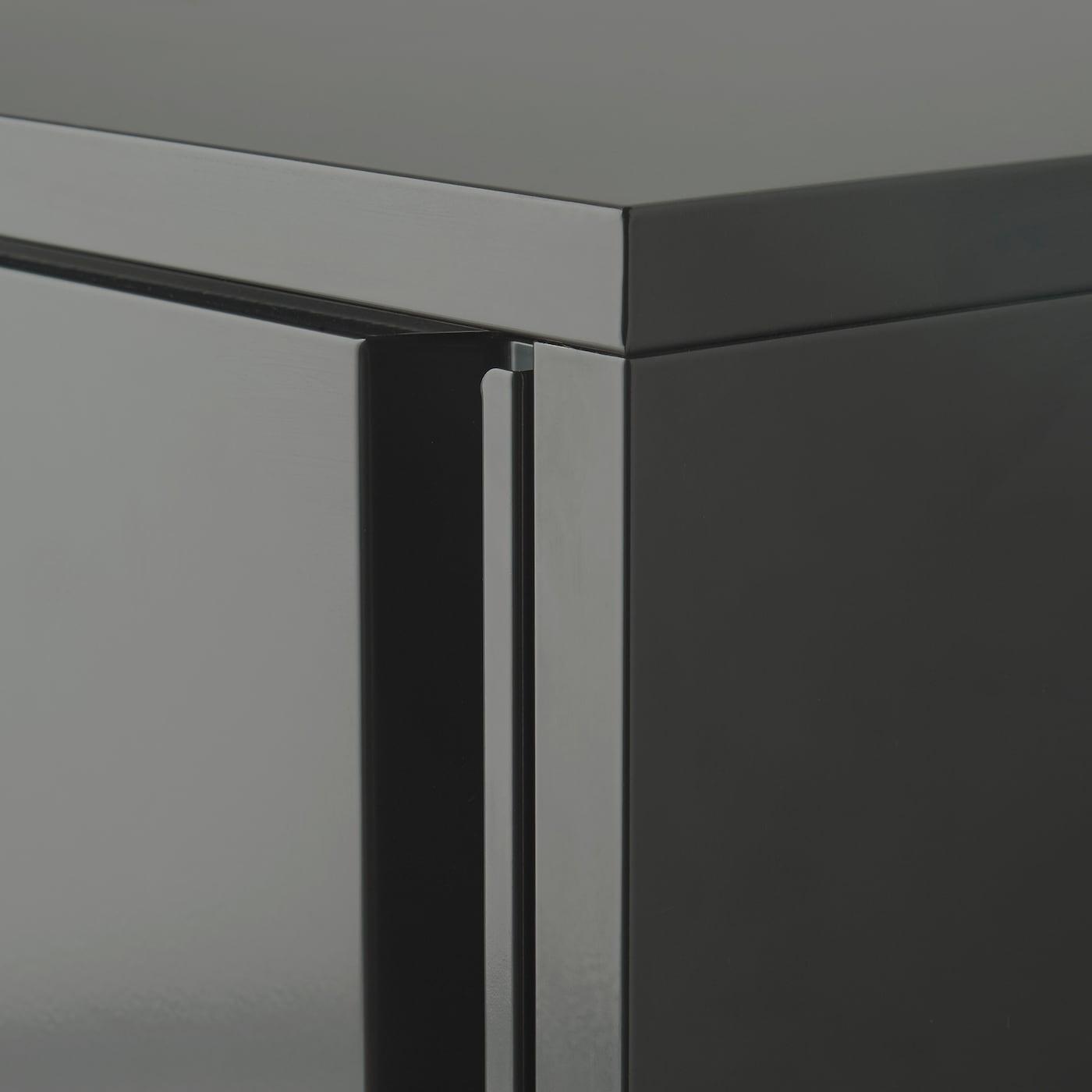 Armadio Metallico Esterno Ikea josef cabinet in/outdoor - dark grey 40x35x86 cm