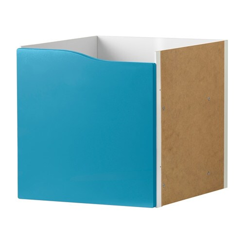 Kallax Insert With Door Turquoise Ikea