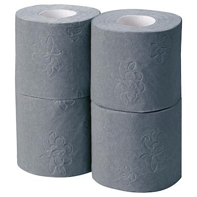 KNÖSEN Toilet paper, grey