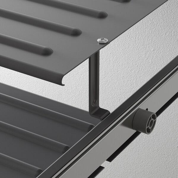 KOMPLEMENT Pull-out shoe shelf, dark grey, 75x58 cm