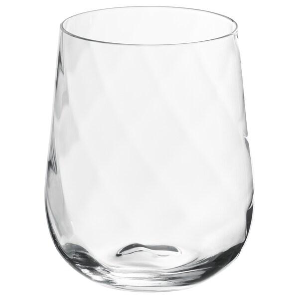 KONUNGSLIG Glass, clear glass, 35 cl
