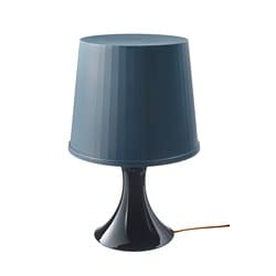LAMPAN table lamp, dark blue