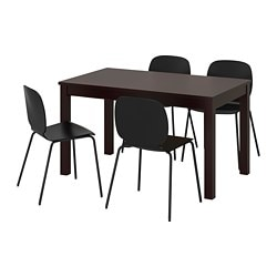 LANEBERG /  SVENBERTIL Table and 4 chairs
