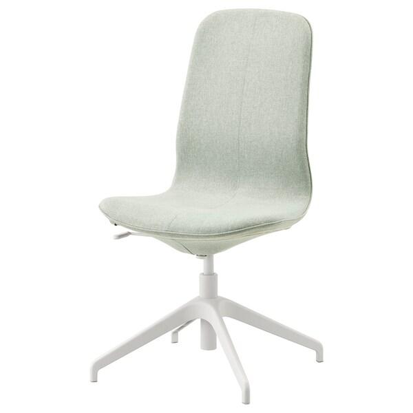 LÅNGFJÄLL Conference chair, Gunnared light green/white