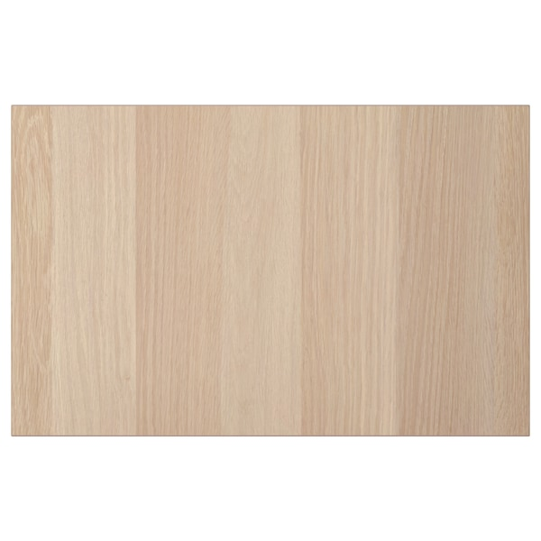 LAPPVIKEN Door/drawer front, white stained oak effect, 60x38 cm