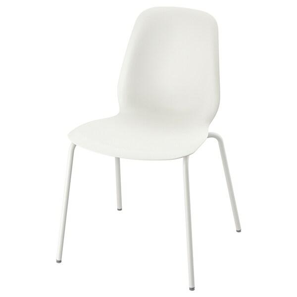 LEIFARNE chair white/Broringe white 110 kg 52 cm 50 cm 87 cm 45 cm 36 cm 46 cm