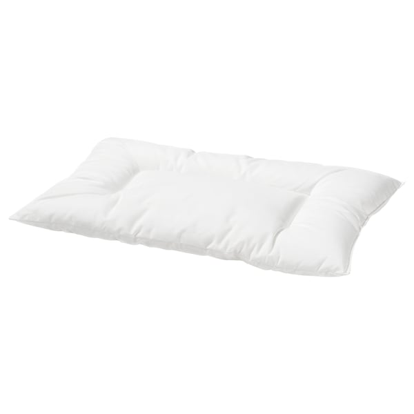 LEN Pillow for cot, white, 35x55 cm