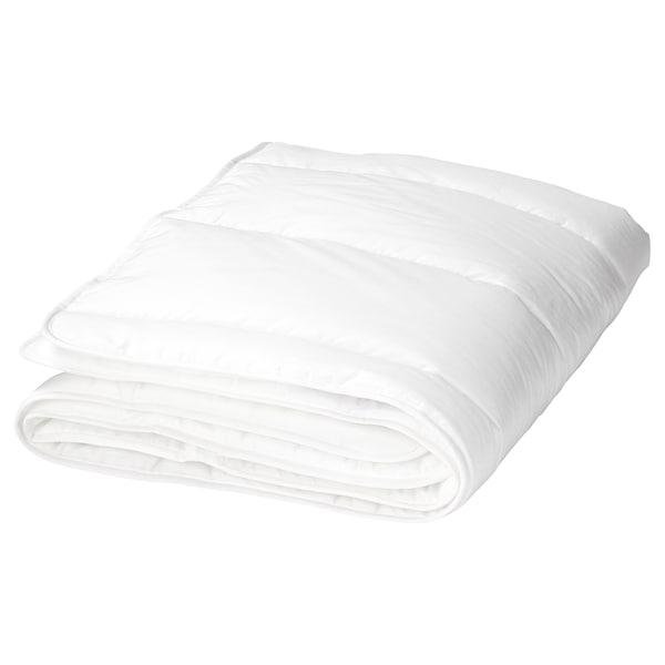 LEN Quilt for cot, white, 110x125 cm
