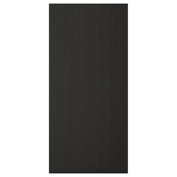 LERHYTTAN Cover panel, black stained, 39x85 cm