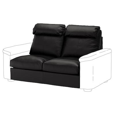LIDHULT 2-seat section, Grann/Bomstad black