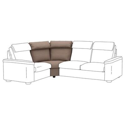 LIDHULT Corner section, Lejde beige/brown