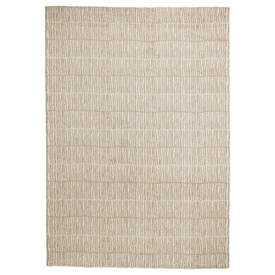 LINDELSE rug, high pile natural colour/beige 240 cm 170 cm 18 mm 4.08 m² 3040 g/m² 1500 g/m² 14 mm