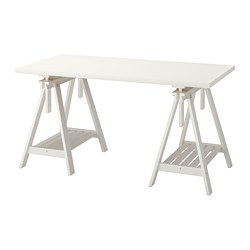 LINNMON /  FINNVARD table, white
